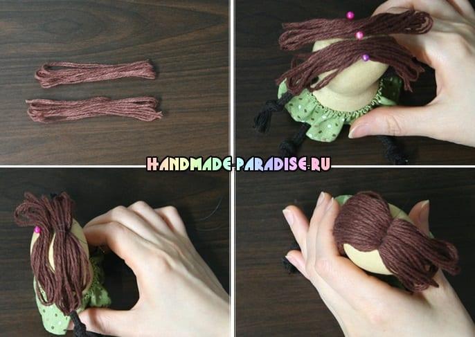 Веревочные пупсы своими руками (10)