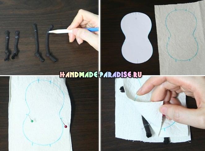 Как сшить веревочного пупса своими руками (5)