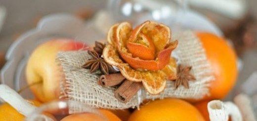 Яркие фрукты в декоре помещений