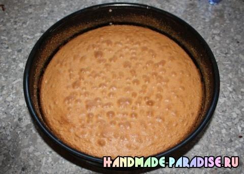 Шоколадный клубничный торт (2)