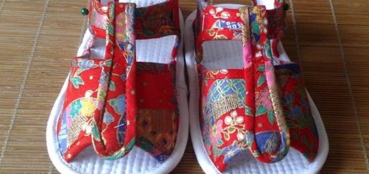 Выкройка детских сандалей