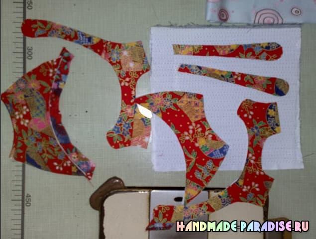 Выкройка детских сандалей (2)