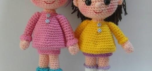 Амигуруми куколка Candy Doll