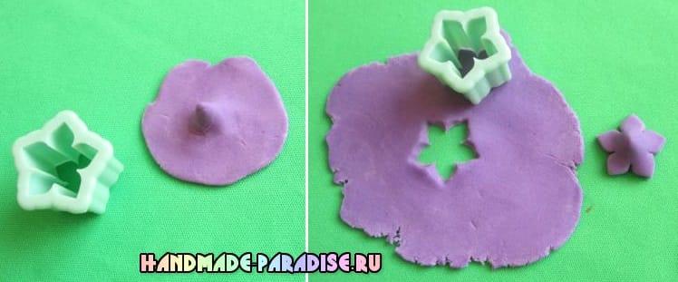 Колокольчики из сахарной мастики для торта (2)
