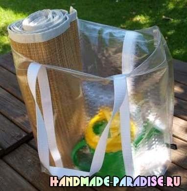 Как сшить сумку из полиэтиленовой скатерти (12)