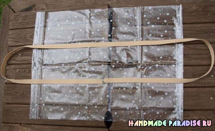 Как сшить сумку из полиэтиленовой скатерти (3)