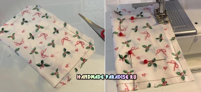 Декоративные венки из текстильных подушечек (2)