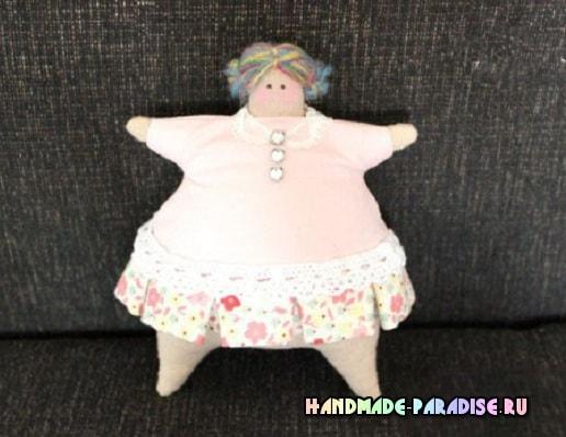 Шьем куколку - тильду толстушку
