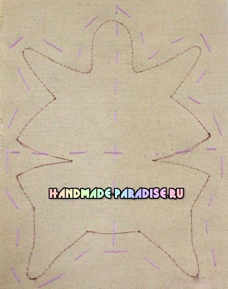 Шьем куколку - тильду толстушку (2)
