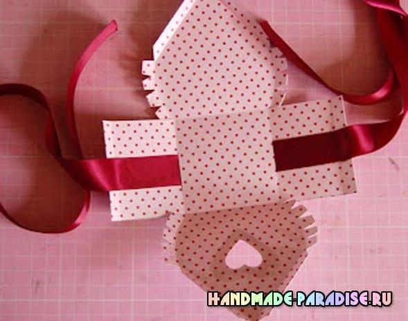 Скворечник из бумаги - подарочная упаковка для конфет (2)