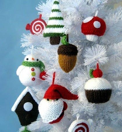 Вязаные новогодние игрушки (4)