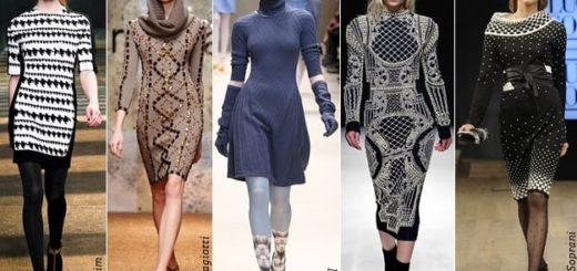 Вязаные вещи в гардеробе современной женщины