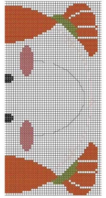 Вышиваем детскую подставку под горячее (5)