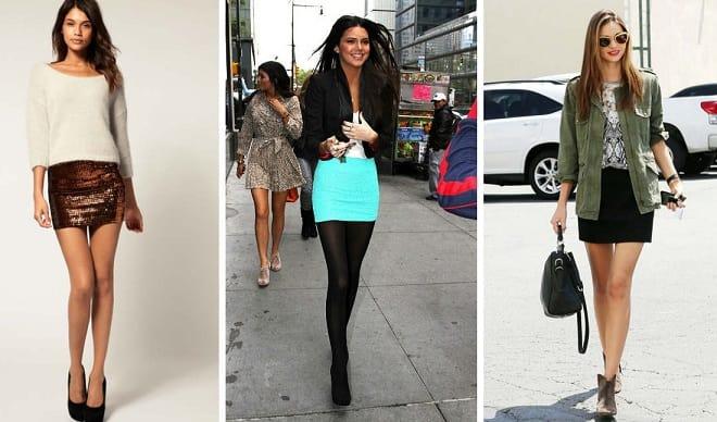 Нужно правильно выбирать короткие юбки (2)
