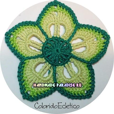 Подстаканники - цветы крючком (6)