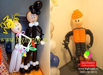 Фигуры из воздушных шариков (2)