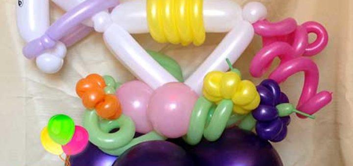 Фигуры из воздушных шариков