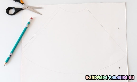 Новогодняя елочка из помпонов (3)