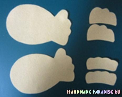 Рыбки из фетра. Шьем игрушки для малышей (4)