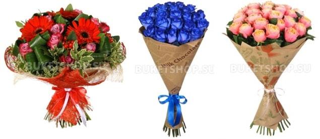 Свежие и красивые цветы от интернет-магазина BUKETSHOP (2)