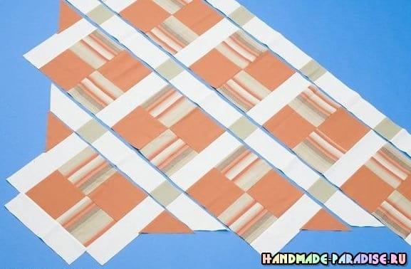 Как сшить теплое одеяло в технике пэчворк (5)
