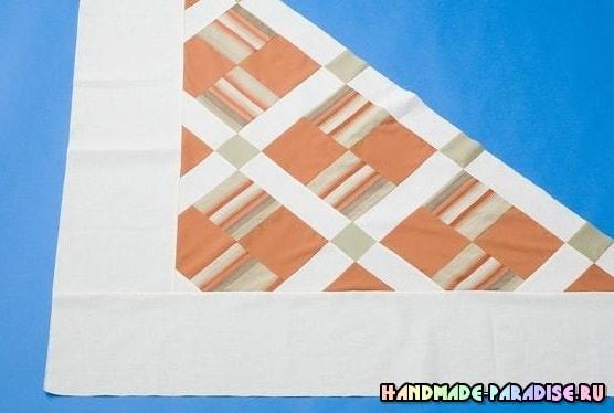 Как сшить теплое одеяло в технике пэчворк (6)