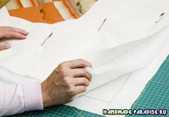 Как сшить теплое одеяло в технике пэчворк (7)