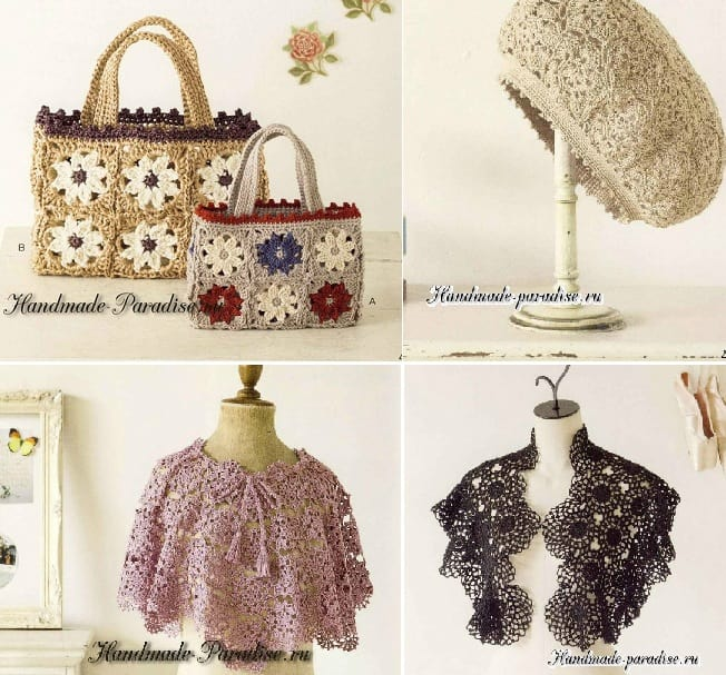 Декоративное вязание крючком. Японский журнал (2)