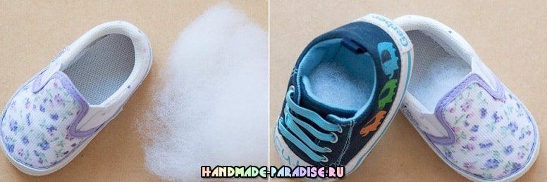 Игольница из детской обуви - полезность и память (2)