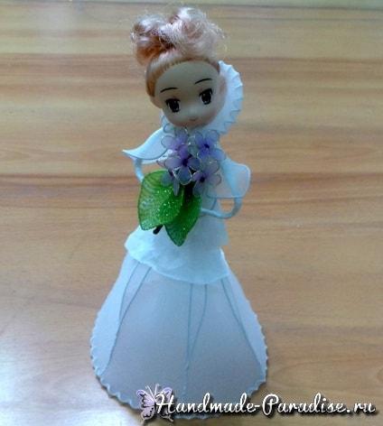 Куклы из капрона на проволочном каркасе (10)