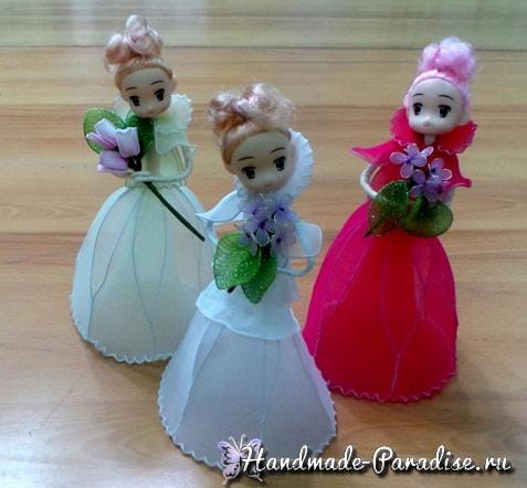 Куклы из капрона на проволочном каркасе (12)