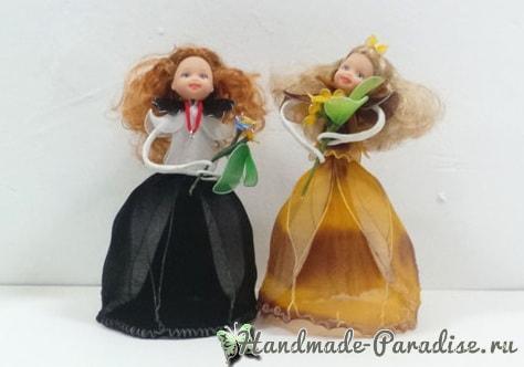 Куклы из капрона на проволочном каркасе (2)