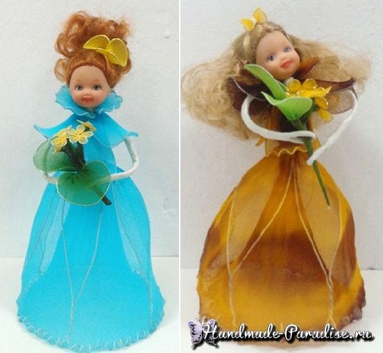 Куклы из капрона на проволочном каркасе (3)