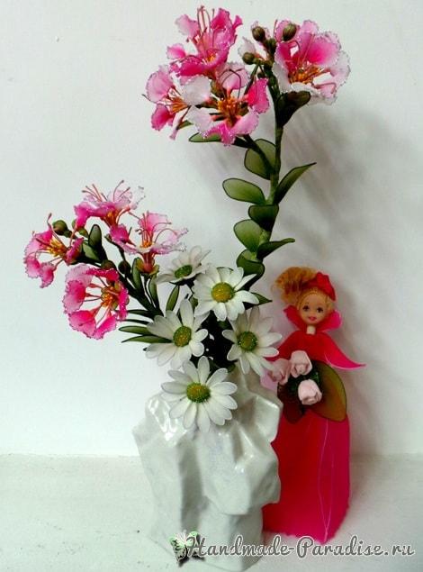 Куклы из капрона на проволочном каркасе (4)