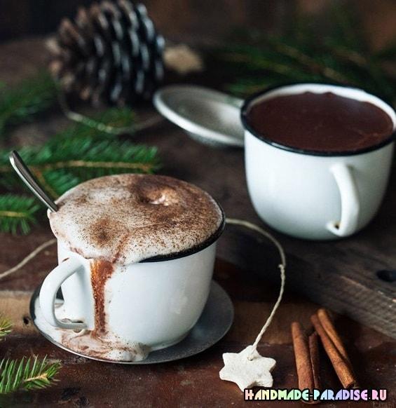 Рецепт вкусного горячего шоколада
