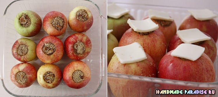 Рождественские запеченные и карамелизированные яблоки (2)