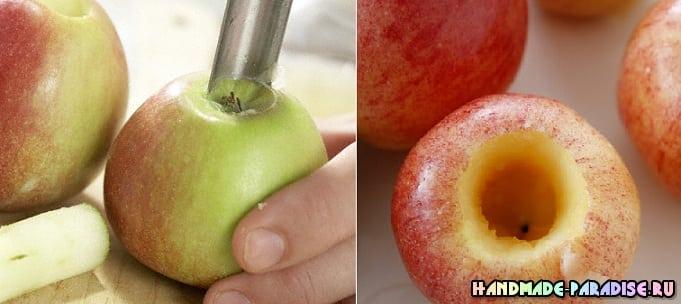 Рождественские запеченные и карамелизированные яблоки (4)