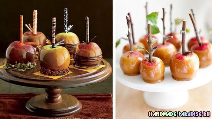 Рождественские запеченные и карамелизированные яблоки (5)