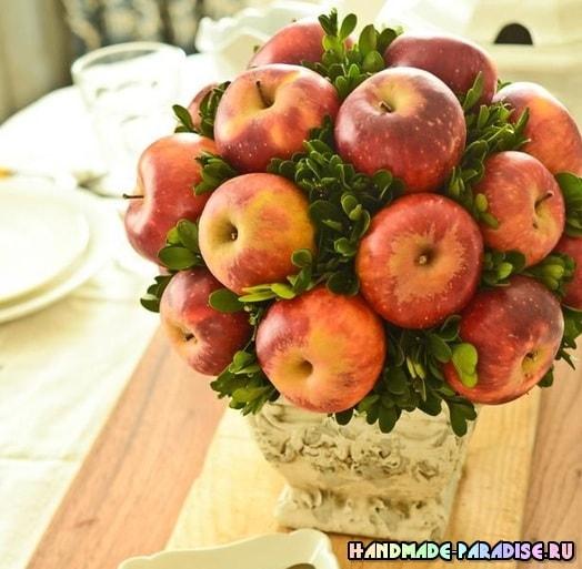 Рождественские запеченные и карамелизированные яблоки (7)