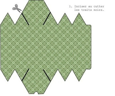 Шаблоны коробочек из бумаги (3)