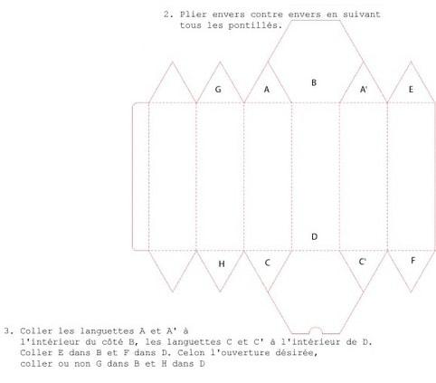 Шаблоны коробочек из бумаги (4)