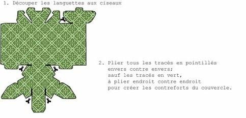 Шаблоны коробочек из бумаги (7)