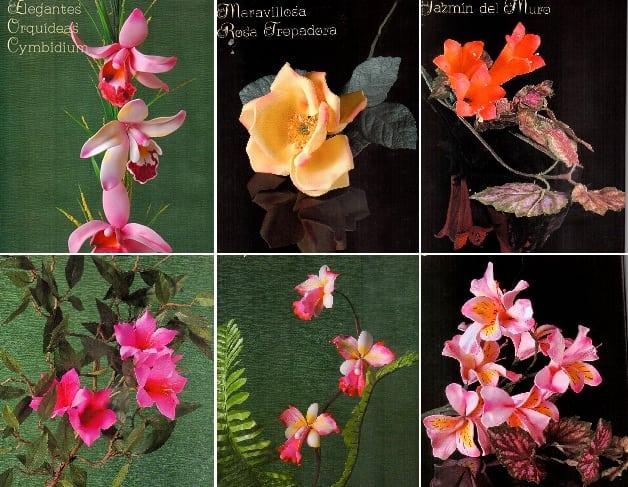 Цветы из фоамирана. Инструкции и шаблоны цветов