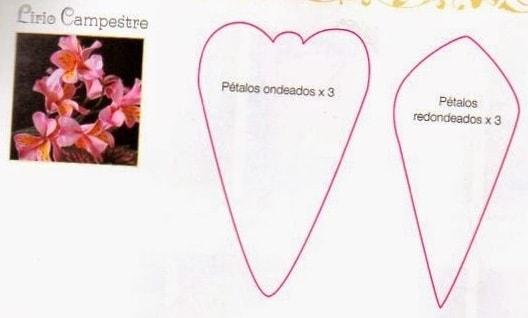 Цветы своими руками. Инструкции и шаблоны (5)