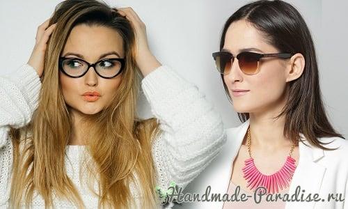 Устранить недостатки лица помогут очки (2)