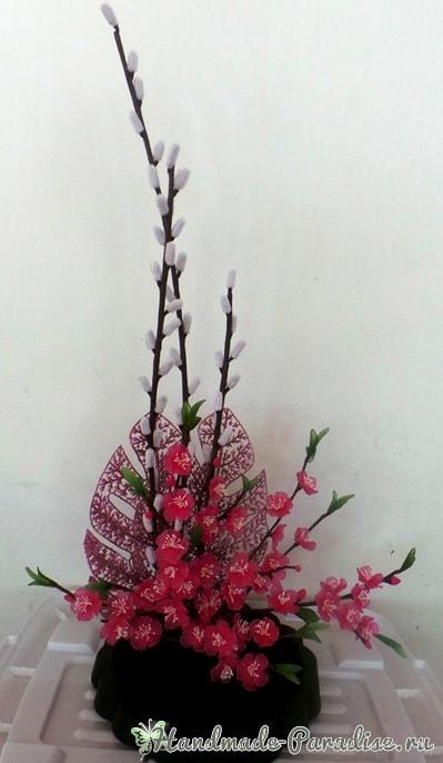 Верба для цветочных композиций из капрона (5)