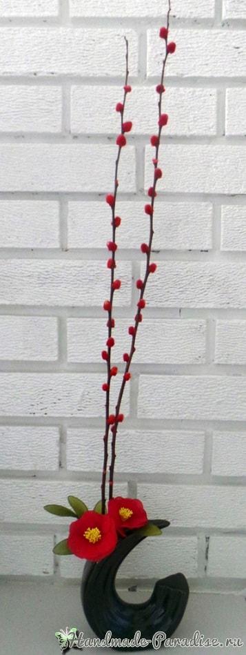 Верба для цветочных композиций из капрона (6)