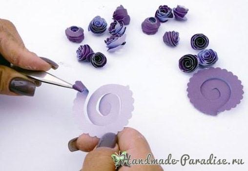 Винная коробка с виноградом своими руками (2)