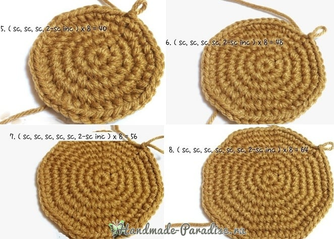 Вязание крючком корзинки для рукоделия (3)