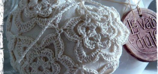 Ароматное сердечко в вязаной одежке